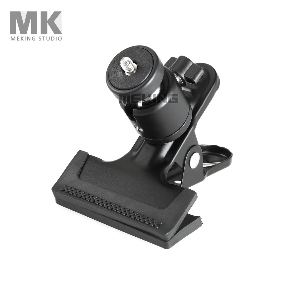 Tripod Heads Multi-function Clip Clamp Holder Mount With Standard Ball Head 1/4 Screw Photography Accessories For Camera Holder