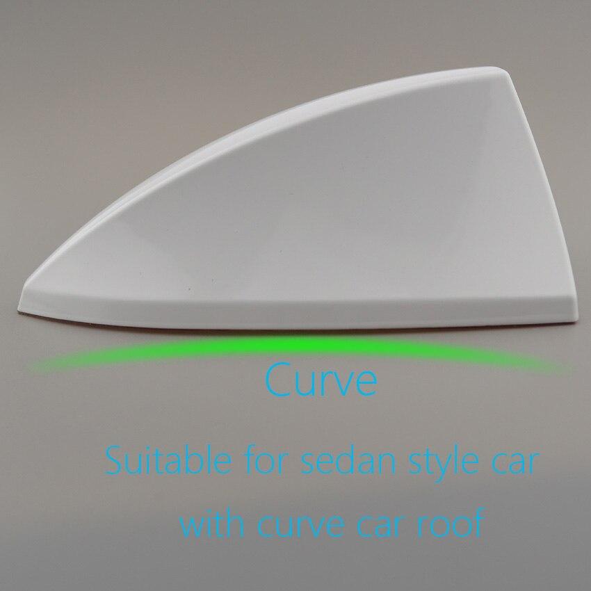 1pcs Fine Painting Sedan Style Car Shark Fin Antenna For Kia 2 3 4 5 Optima