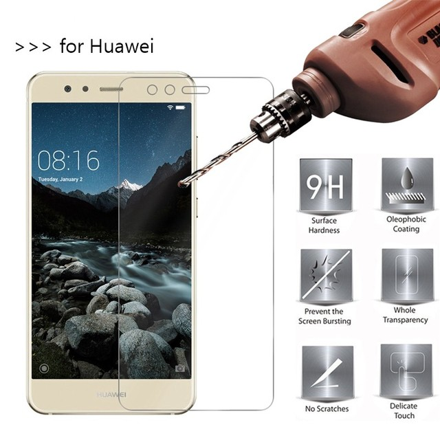 4pcs/Lot Tempered Glass For Huawei Ascend Honor V20 9i play P Smart 2019 Mate 20 10 9 Pro Lite Screen Protector Protective Film