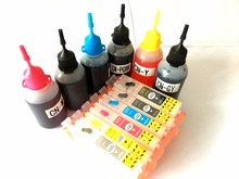 6 Colors Ink Refill Kit For Canon PIXMA MG7770