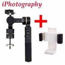 Feiyutech G360 панорамный Камера Gimbal для INSTA360 Nano для iphone 8 для iPhone 6 6 S 7 Plus для Galaxy S8 S7 Plus + телефон клип