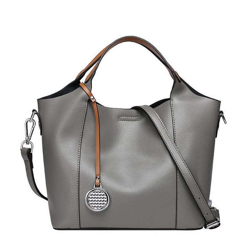 100% LUXURY Genuine Leather Women Shoulder Bag Brand Designer Cowhide genuine leather handbags Skin Crossbody bag luxury 100