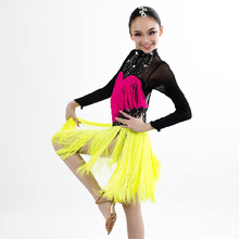 New style latin dance costumes senior sexy gauze long sleeves latin dance dress for women / girls latin dance dresses S-4XL