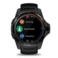 Zeblaze Dual System WIFI 8MP Camera Smart Watch Waterproof GPS 1.39 Inch Screen Zinc Alloy 4G Phone Heart Rate Monitor 2+16GB
