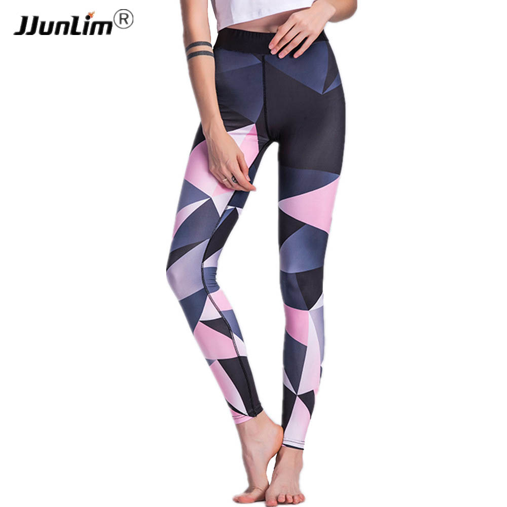 Women Fitness Leggings Yoga Pants Printed Sports Leggings Running Compression Tight Sexy Push Up Sportswear Running Sweatpants