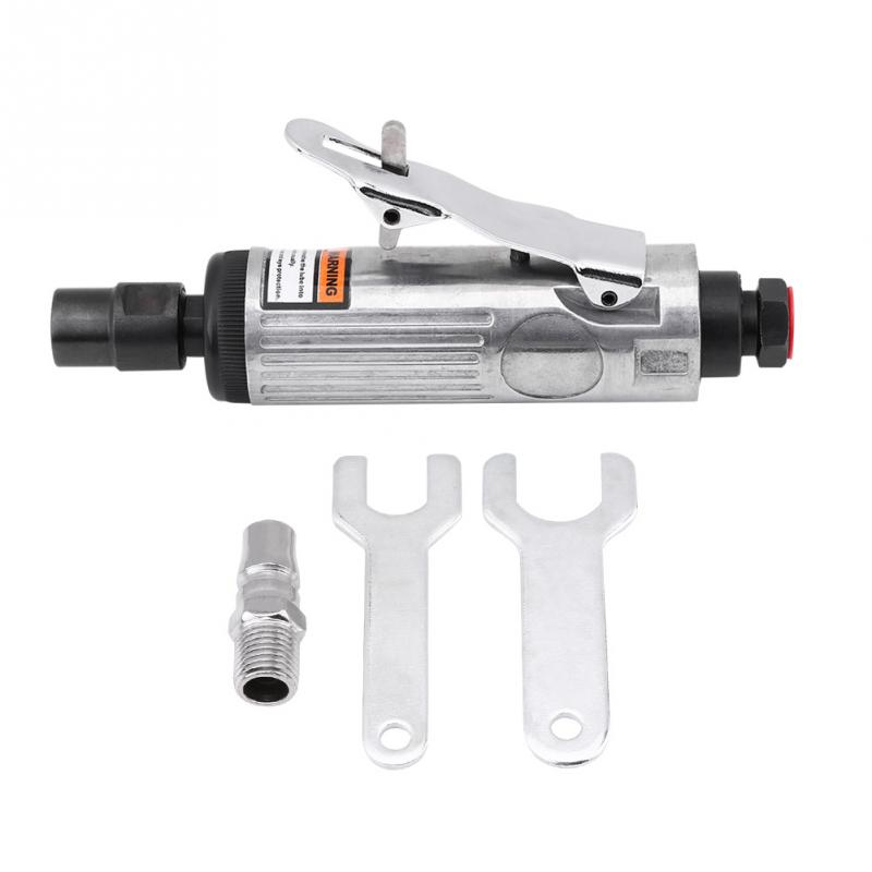 1//4Inch 90PSI Pneumatic Air Die Grinder Kit Polishing Engraving Grinding Tool