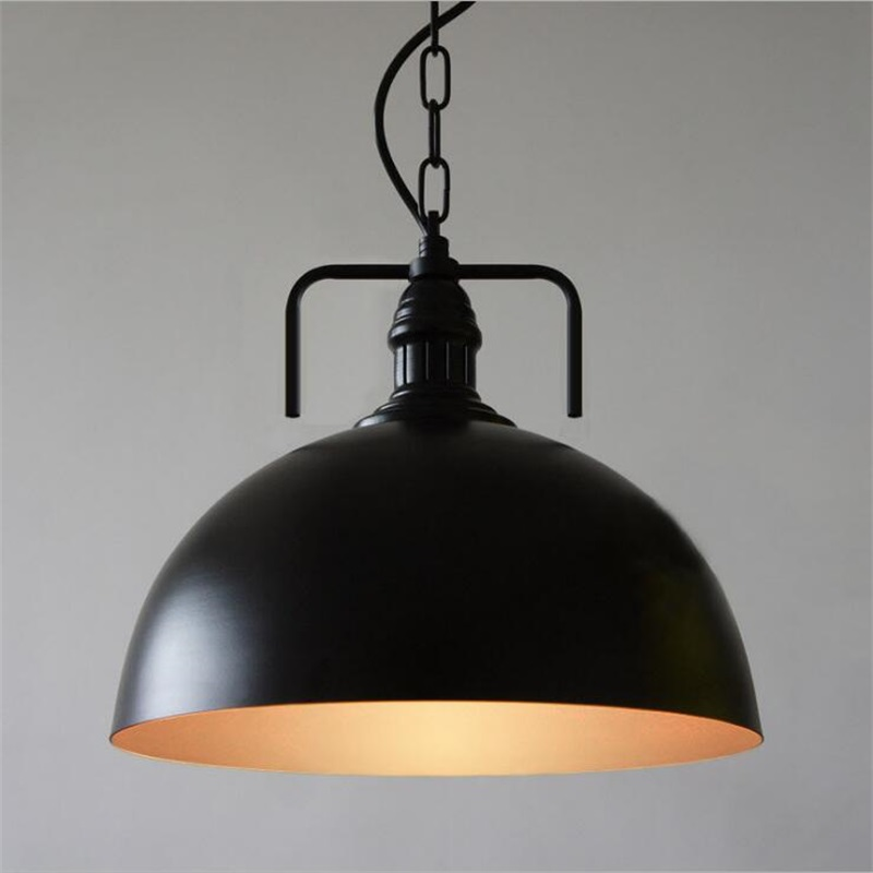 American Country Retro LOFT Pendant Lights Vintage Industrial Lighting Hanglamp Hotel E27 Lamp Fixtures Iron Abajur american retro pendant lights luminaire lamp iron industrial vintage led pendant lighting fixtures bar loft restaurant e27 black