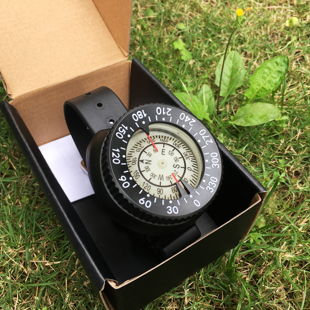 Diving compass deep sea diving tool diving watch compass in Compass from Sports Entertainment