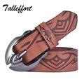 Moda PU cuero y piel de vaca cinturones de diseño para hombres mujeres de la correa con hebilla de metal ceinture cinto feminino envío libre
