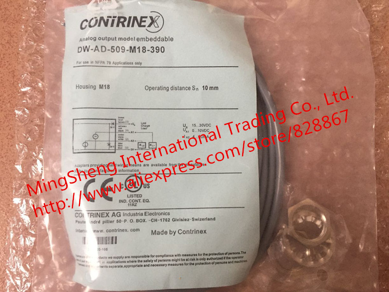 цена на Original new 100% fine quality new Swiss DW-AD-509-M18-390 proximity switch