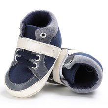 Casual Kids Children Shoes High Quality Baby Shoes Mother Care Leisure Sports Baby Shoes Red White Deep Blue New(China)