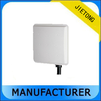 2 pieces Fixed Station Tag Building Reader Mid range UHF RFID Card Reader Passive for Smart Parking System