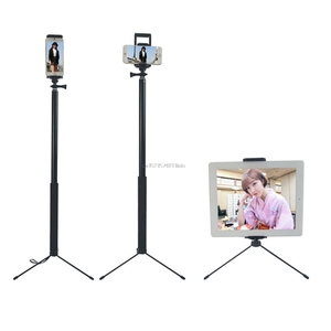 Image 5 - 1.5 متر/2 متر للتمديد Selfie عصا ترايبود حامل آيفون باد DSLR أندرويد Gopro