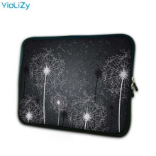 цена на Dandelion print mini tablet case 7 laptop sleeve 7.9 soft notebook Protective Skin waterproof PC bag cover for ipad 3 TB-9288