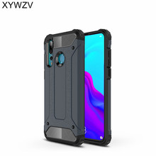 hot deal buy xywzv cover huawei nova 4 case shockproof armor rubber hard pc phone case for huawei nova 4 back cover for huawei nova4 fundas ^