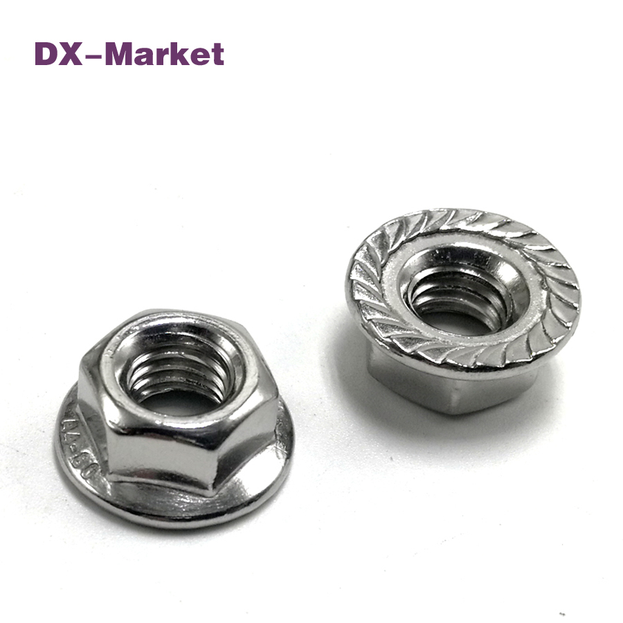 m3 m4 m5 m6 m8 m10 m12 m16 sus316 Hex Flange Nut , din6923 304 stainless steel Flange Self Locking Nut fasteners gb6184 304 stainless steel metal lock nut m3 m4 m5 m6 m8 m10 m12 m14 m16 m20 nut metal self locking nut anti loose nut