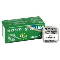 Pilas de Boton Sony bateria ban đầu Oxido de Plata SR716SW vỉ 5X Unidades
