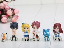 Fairy Tail  Natsu, Gray, Lucy, Erza Figures