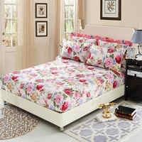 Sábana de cama de 100% algodón con goma elástica sábana de cama ropa de cama bolsillo profundo doble reina doble Sinlge Ruissian tamaño 160X200 cm.