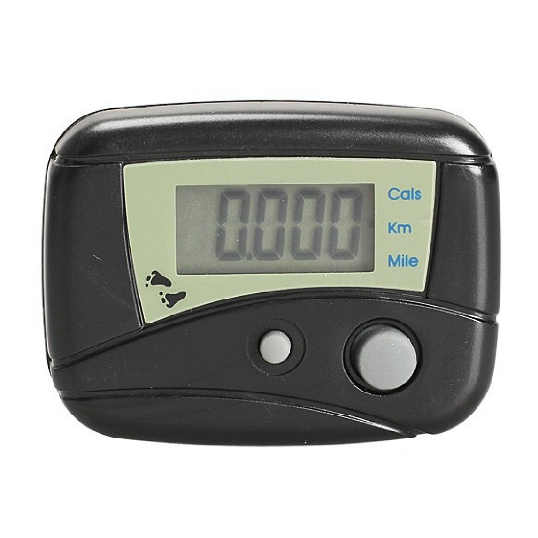 Best Price Electronic Steps Black Digital LCD Run Step Run Pedometer Walking Calorie Counter Distance Clip-on