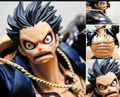 15 CM clásico japonés figura anime One Piece Luffy Gear 4 PVC figura de una pieza Luffy juguete estatuilla de una sola pieza de la muñeca