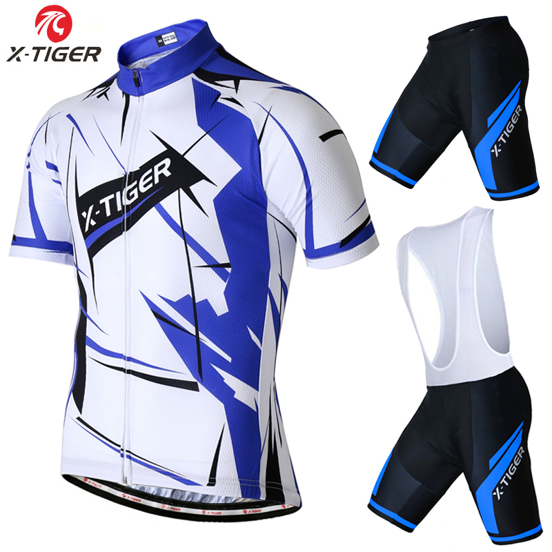 X-Tiger Summer Cycling set Racing Bicycle Clothing Mans Maillot Ropa Ciclismo 2017 Summer Quick-Dry MTB Bike Sportswear Suit summer x tiger brand short sleeve cycling jersey set quick dry mtb bike cycling clothing bike clothing ropa ciclismo