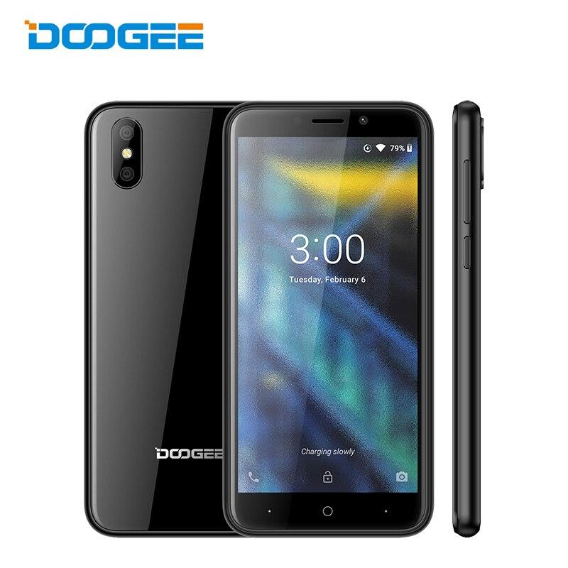 Original Doogee X50 3G Unlock Dual Sim 18:9 5 Inch Smartphone Android 8.1 Oreo Quad Core 1GB RAM 8GB ROM Mobile Phone Cellphone