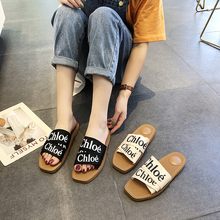 Fashion Women Beach Slippers Black Slides Summer Shoes Flat Sandals Indoor Shoes Female Casual Shoes Zapatos Mujer