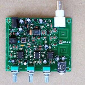 Image 4 - جديد 1 قطعة أطقم ذاتية الصنع جهاز استقبال راديو Airband جهاز استقبال الطيران + دليل + علبة Al