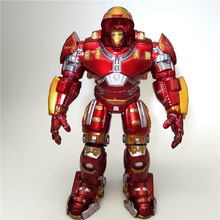 The Avenger Super Hero Action Figure 18CM Iron Man Thor Captain America Spider Man PVC Action Figure Toy Dolls With LED цена 2017