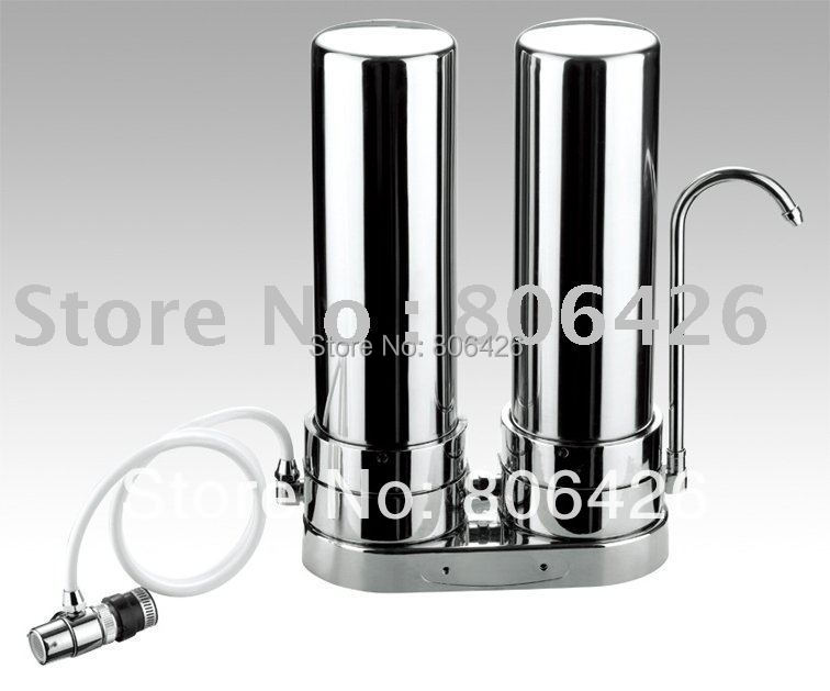 304stainless steel water purifier tap water filter kitchen water treatment drinking water solution with PP UDF