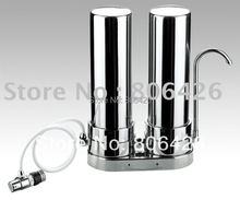 304stainless steel water purifier/tap water filter/kitchen water treatment/drinking water solution with PP/UDF+CTO/UFcartridge