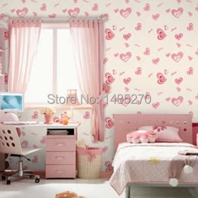 Girl bedroom wallpaper for walls seamless contact paper - Papier peint chambre bebe fille ...