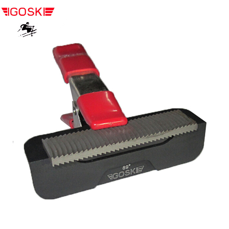 IGOSKI ski snowboard  side edge tuning tool angle file guide tunner  racing 3 pieces set Scraper sharper
