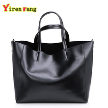 Genuine Leather Bag Luxury Handbags Women bags Designer Ladies Bucket Bags Handbags Women Famous Brands Shoulder Bags For Women