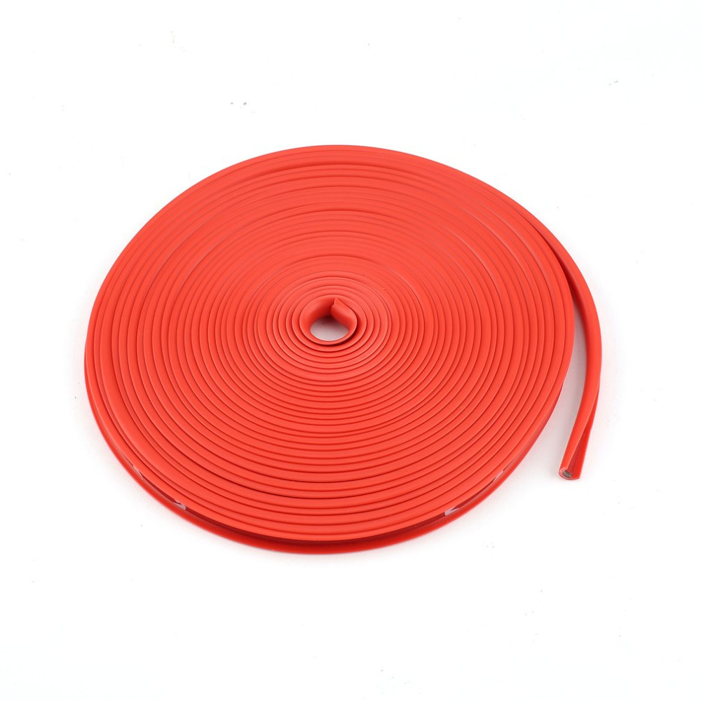 New 8M Car Rim Sticker Wheel Hub Protective Paste Ring Tire Guard Sticker Rubber Strip Durable Powerful Car Rim Edge Sticker