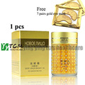 New face remove eye bag gold eye cream (gift 7 pairs gold eye mask)