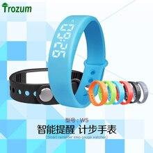 Умный браслет w55 браслет шагомер термометр монитор сна сжигания калорий трекер smart watch мужчины женщины розничной упаковке p1