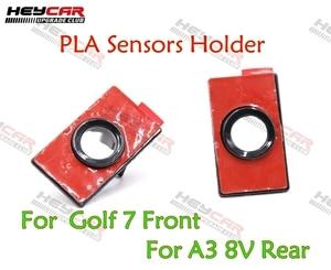 Автомобильные Датчики парковки OPS PLA, держатель для переднего бампера, для Golf MK7, 2 шт.