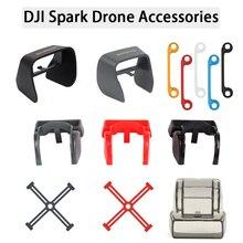 Обновленная Антибликовая Защита для камеры Gimbal Защитная крышка для объектива Солнцезащитная Защита от солнца для DJI Spark Drone аксессуары