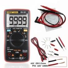 цена на AN8009 True-RMS Auto Range Digital Multimeter NCV Ohmmeter AC/DC Voltage Ammeter