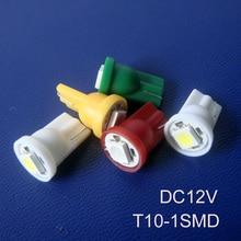 High quality 5050 3 chips 12V T10 led instrument bulbs T10 158,168,194, 912 w5w w3w led bulbs free shipping 100pcs/lot