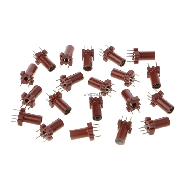 20 Pcs Adjustable Inductor Shell Skeleton Empty Ferrite Core No Inductor Coil 25 100MHZ Whosale&Dropship