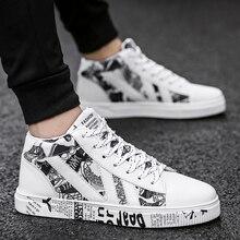 גרפיטי בד גברים נעליים יומיומיות לנשימה זכר נעלי Tenis Masculino Adulto נעליים חיצוני נעלי אוהבי סניקרס גברים יוניסקס 45