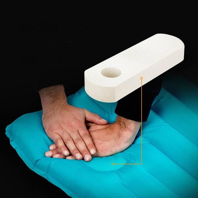 Naturehike Winter Sleeping Pad Ultralight Inflatable air Mattress 4