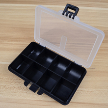 Storage-Case Lure Bait Fishing-Tackle-Box Plastic Hook Spoon Transparent 4-Compartment