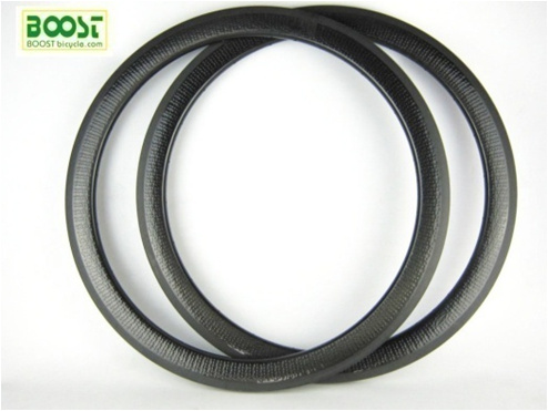 Carbon kuiltje clincher wielen 50mm velg geen sticker rodas snelheid carbono 25mm breed cyclo cross fietsen component online bestseller - 2