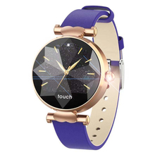 B80 Women Smart Bracelet Leather strap  Watch Fashion IP67 Fitness Tracker Heart Rate Monitor Blood Pressure