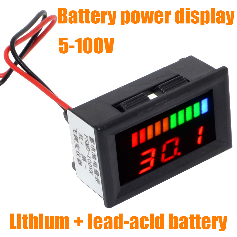 Wholesale 5pcs Lot Plastic Band Switch 2 Pole 4 Position Rotary Lot5 1 8 Panel Wiring 1p8t Universal 5 100v Dual Led Display Lithium Lead Acid Battery Tester Capacity Indicator