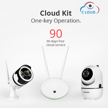INQMEGA Cloud Storage Wireless IP Camera 720P Kits Home Security Surveillance CCTV Network WIFI CamP2P IR Night Vision System
